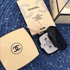Chanel cushion CC cream full size + refill.